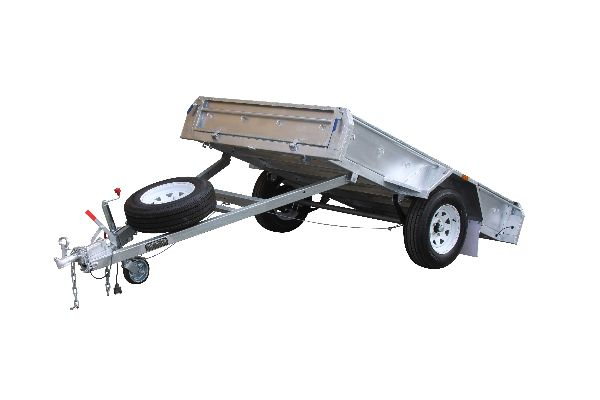 8 x 5 Box Trailer With Tipping Function