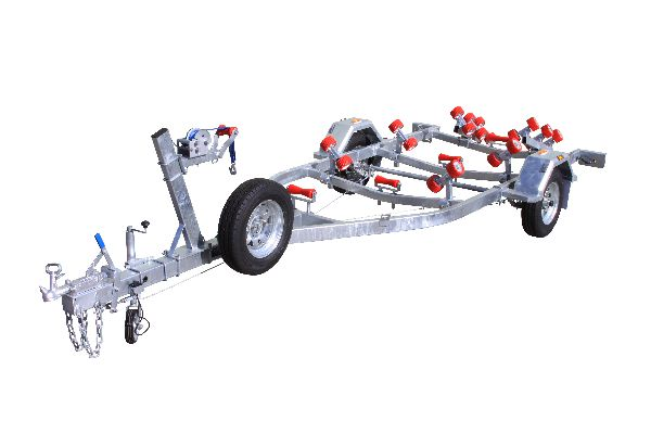 Five and one half Meter Braked Boat Trailer With Rollers