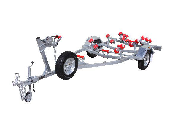 Five Meter Boat Trailer With Rollers