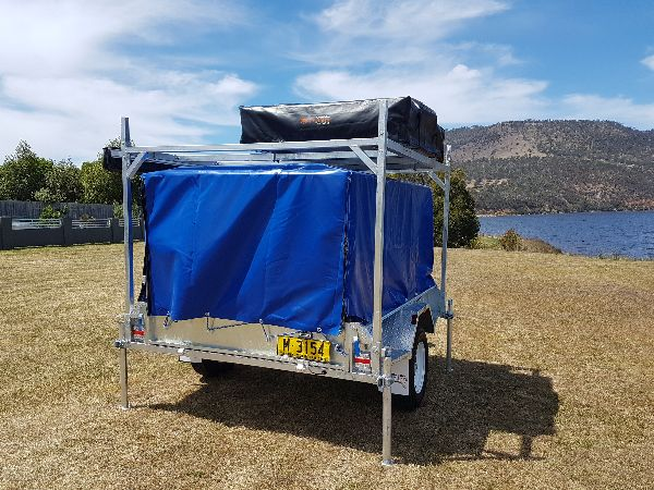 7 x 5 Camper Box Trailer