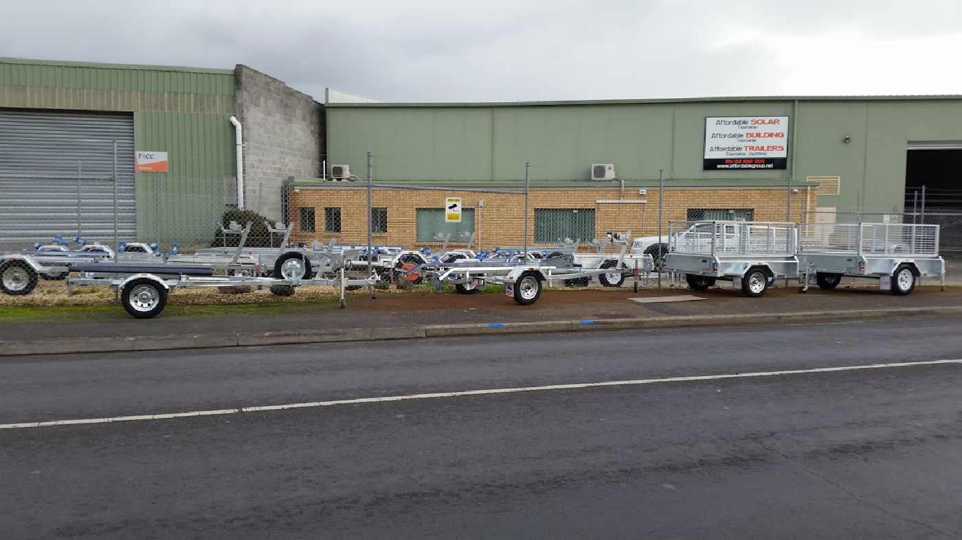 Affordable Trailers Tasmania Warehouse Pic